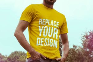 t-shirt-mockup-template